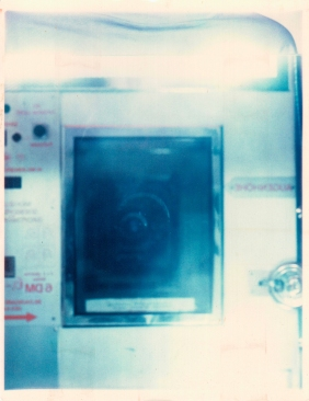 Self portrait of a photomaton